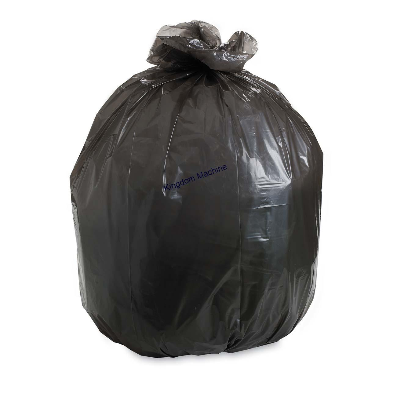 Manufacturer and Supply Trash Bag by bottom sealing machine Dubai